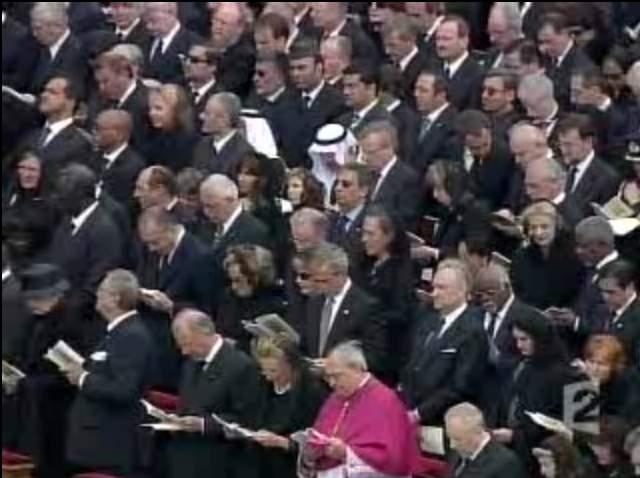 rois et chefs d'état au Vatican