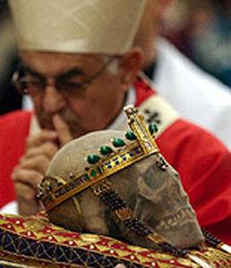 culte adoration relique crâne