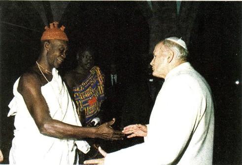 Pape et prêtre Vaudou